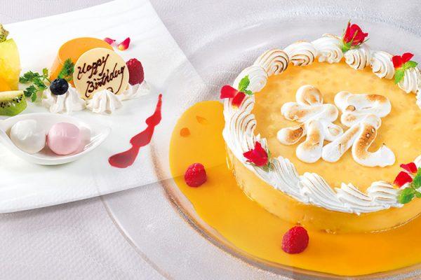 お祝いデザート【要ご予約】