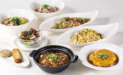 ご宿泊者限定 中国料理南園 夜ごはんセットイメージ - コピー