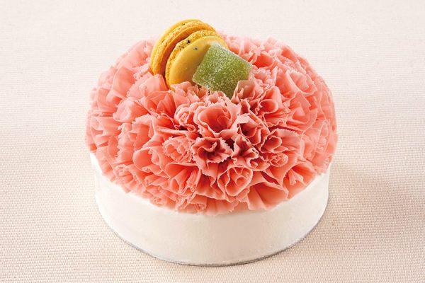 【マンスリーケーキ】 カーネーションケーキ(12cm)