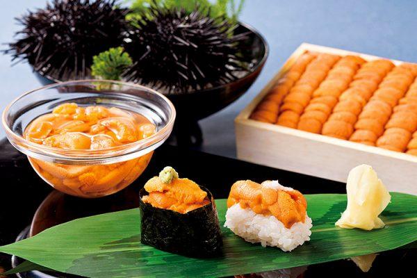 利尻ウニ食べくらべ鮨