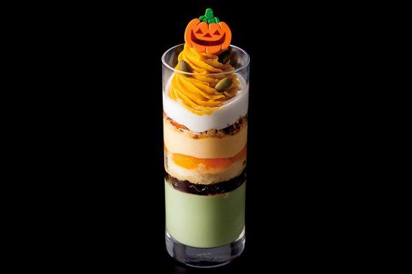 【マンスリーパフェ】おばけかぼちゃのパフェ