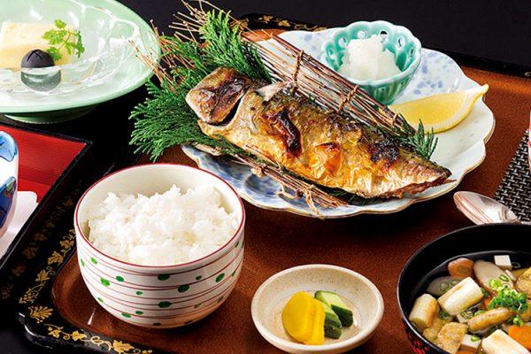 【月変わり定食】焼き魚定食