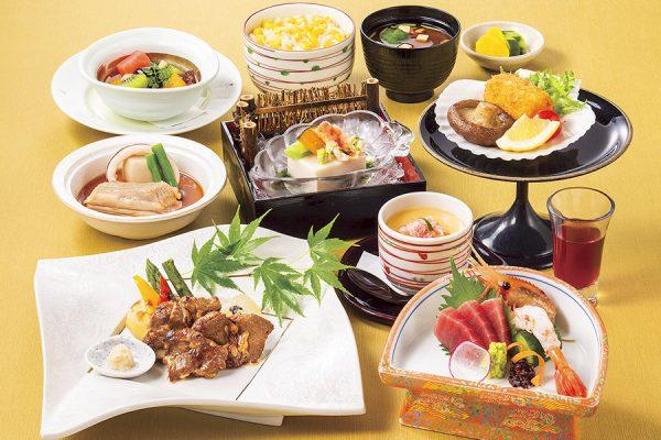 8月・北海道フェア 会席「北の味覚」