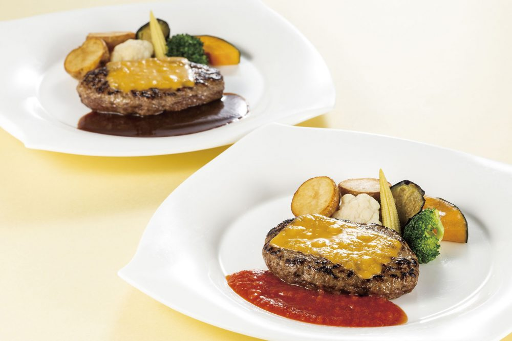 ランチセット「チーズハンバーグステーキ 」