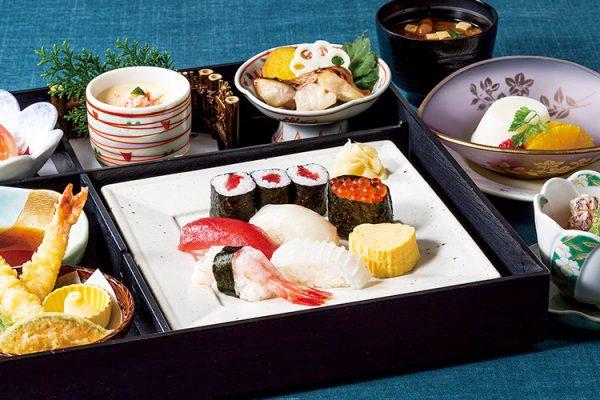 ランチ・15食限定 「八一レディス鮨御膳」