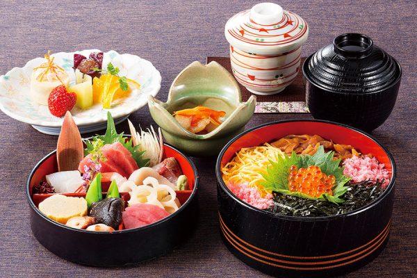 ちらし寿司 二段重
