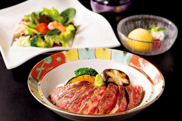 【5月】平日のみ・数量限定ランチ「黒毛和牛ステーキ丼」