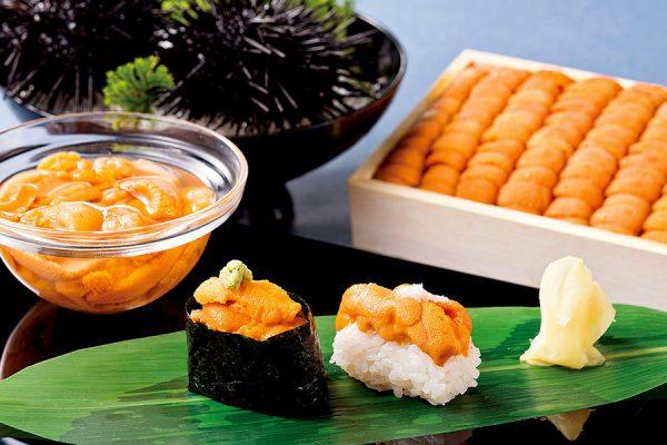 【7月】利尻ウニ食べくらべ鮨