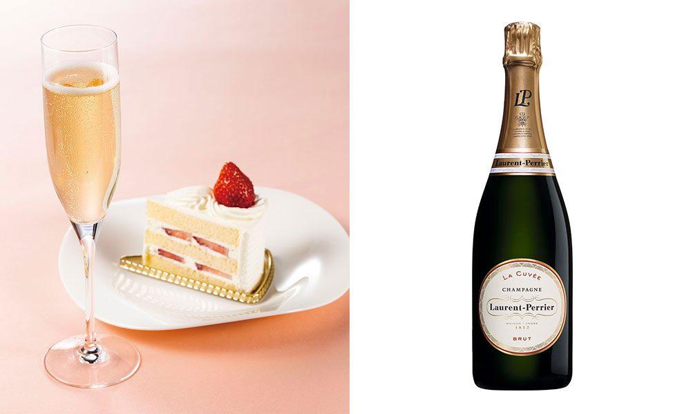シャンパンフェア「グラスシャンパン&ケーキ」