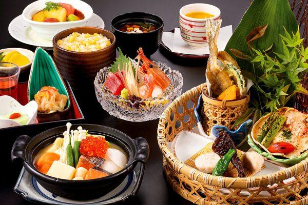 【8月】 北海道フェア 北の味覚「かご盛り膳」