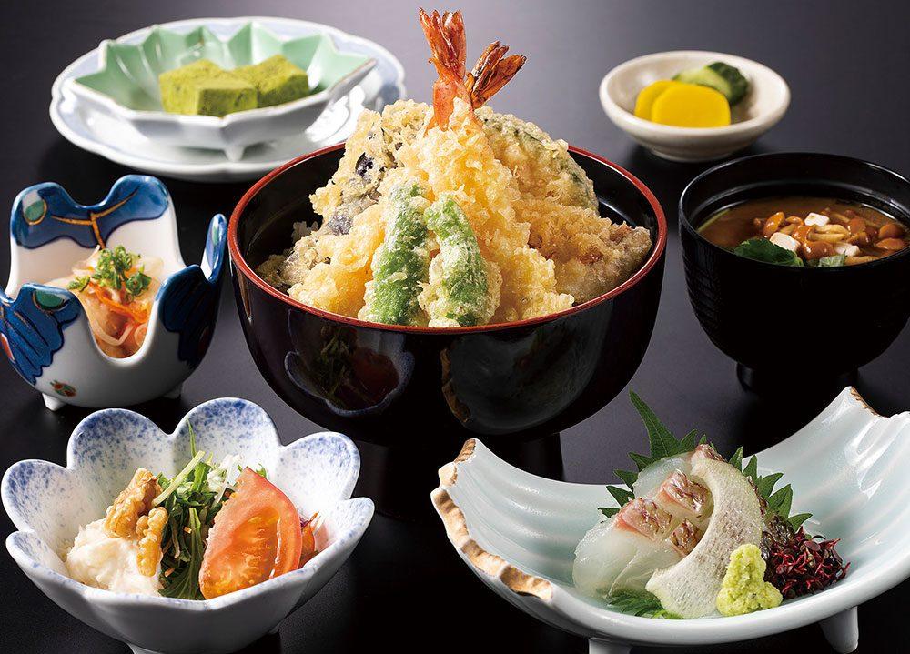 【9月】 平日のみ・数量限定ランチ 「天丼定食」