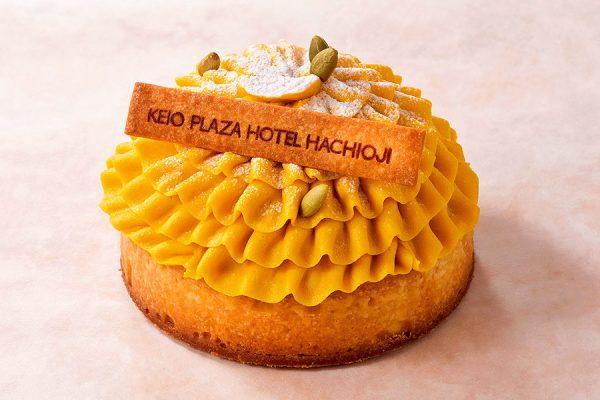 【10月】マンスリーケーキ「かぼちゃのタルト」