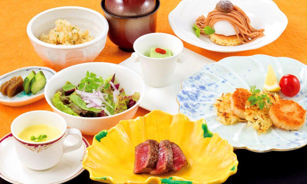 【10月・11月】七五三のお祝いメニュー お子様料理「虹」