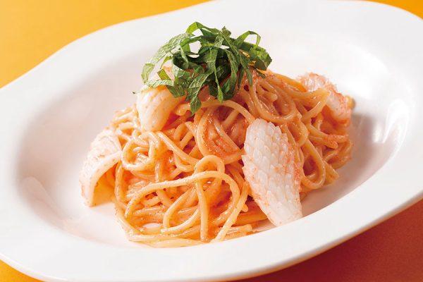 【2月・3月】ランチセット「明太子スパゲッティ」