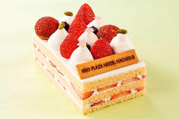 【3月】マンスリーケーキ「さくらショートケーキ」