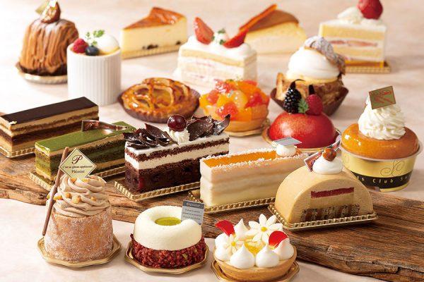 【7月】ケーキセット&ピースケーキ