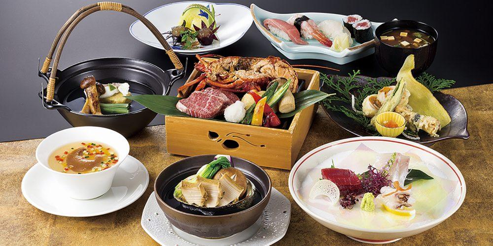 日本料理<みやま>料理長特選海山会席