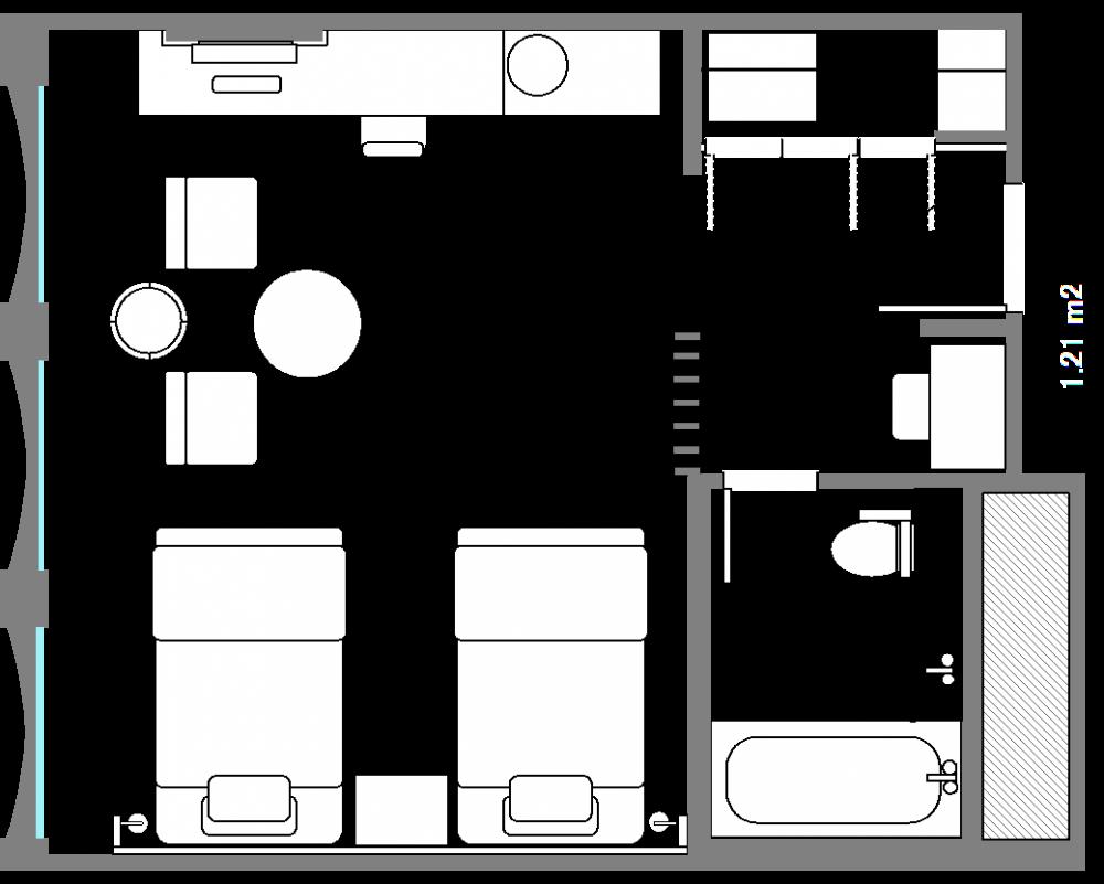 plazadeluxe_twin_layout