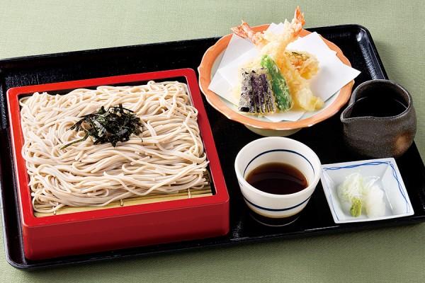 【平日限定】天ざる蕎麦膳