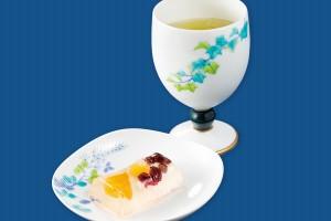 日本茶と和菓子セット