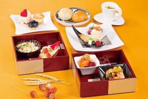 アフタヌーンティーセット 午後の宝石箱~収穫祭~【9月】