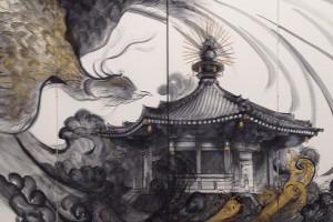 開催10回記念 PART X 世界文化遺産を描く 石井 松琴 展