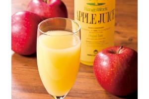 りんごの里、青森県板柳町のりんごジュース