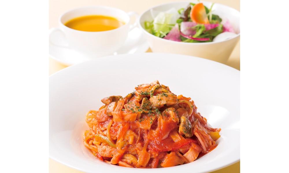 伝統のスパゲティ ナポリタンセット