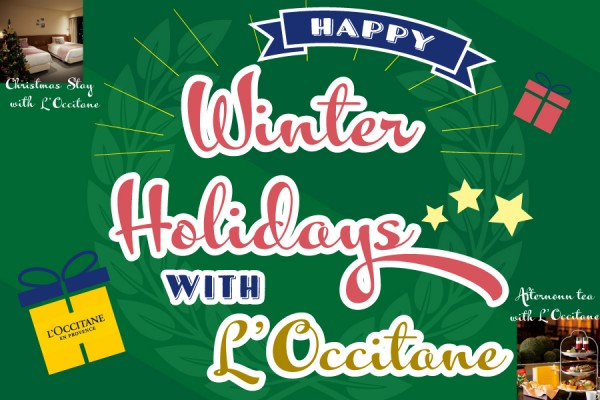 Happy Winter Holidays with L'Occitane