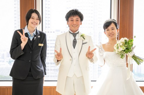 担当プランナーの高島と 本当におめでとうございます!